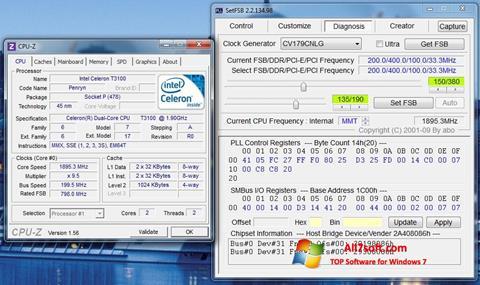 Petikan skrin SetFSB untuk Windows 7