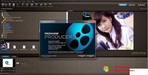 Petikan skrin ProShow Producer untuk Windows 7