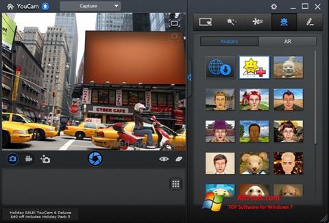 Petikan skrin CyberLink YouCam untuk Windows 7